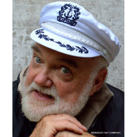 57669a996d5bc Captain s Hat in white