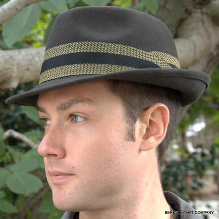 Men s Packable Felt Fedora Hat 9f6e8625cb2