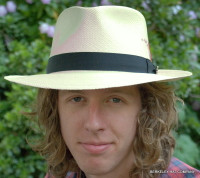 Natural Panama Fedora