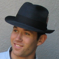 Milan CD Stingy Brim Hat- black or white