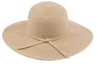 Crushable Wide Brim Straw Summer Hat