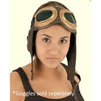 Aviator Pilot Hat in brown