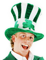 Shamrock Uncle Sam Top Hat