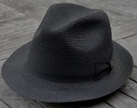 Biltmore Charleston Fedora in Black