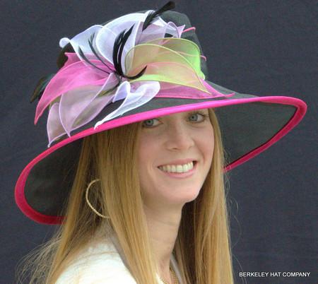 bf1f7841245ce Organza Kentucky Derby Hat