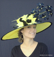 The Finish Line Favorite Derby Hat.