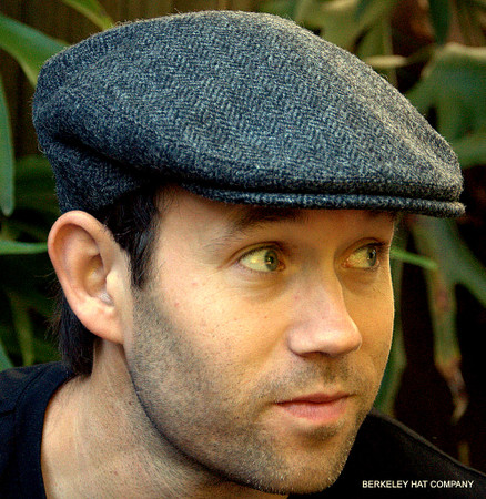 48b30ce6830 Herringbone Irish Wool Tweed Ivy Cap