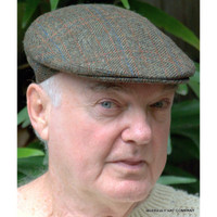 IRISH Driving Cap Herringbone