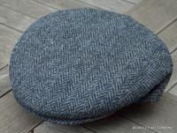 Harris Tweed Flat Cap, Italian (IR26)