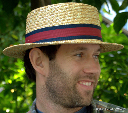 Straw Boater Hat - Berkeley Hat Company 9c3d7f7c573