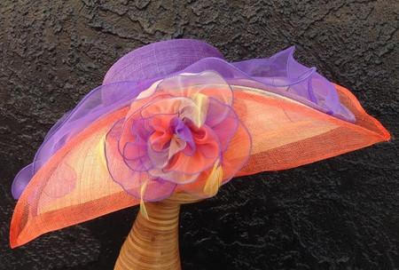 California Sunset Kentucky Derby Hat.