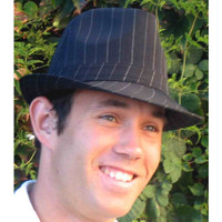 Fedora Hat, Pinstripe