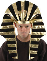 King Tut hat by elope, gold and black