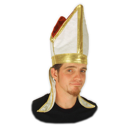 pope hat by elope