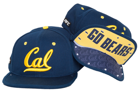 5a27b7521c198 Go Bears! CAL Rally Flip Cap Snap Back - Berkeley Hat Company