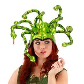 Metalic Medusa hat