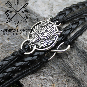 Wolf / Eternity Bracelet