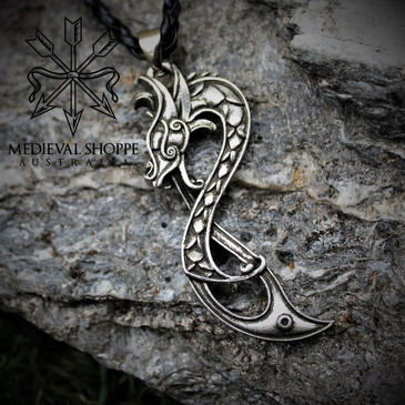 Viking Dragonette Pendant