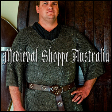 Ultra Fine XXL Chain Mail Shirt. (Riveted 6mm 18g)