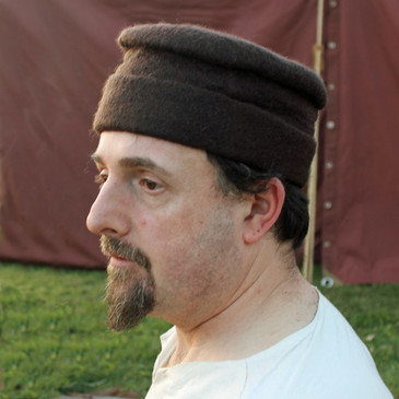 15th Century Felt Hat (Brown)