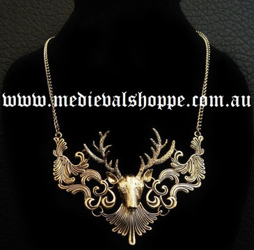 Large Stag Pendant