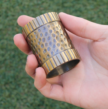 Heavy Bronze Napkin Ring