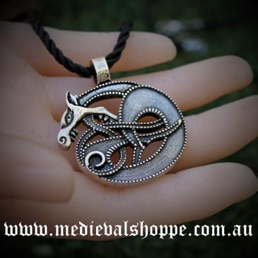 Norse Dragon Pendant