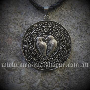 Ravens & Runes Pendant