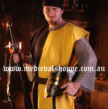 Heavy Cotton Tabard Surcoat (Various Colour Combinations)