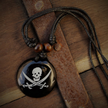 Pirate Emblem - Skull & Cutlass Pendant