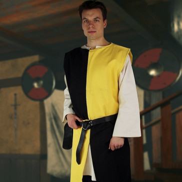 Black & Yellow Surcoat