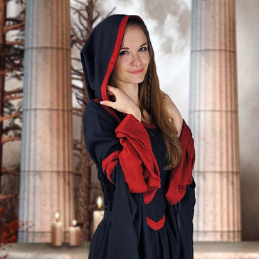 MEDIEVAL HOODED DRESS