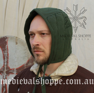 Green Arming Cap (Padded Coif)