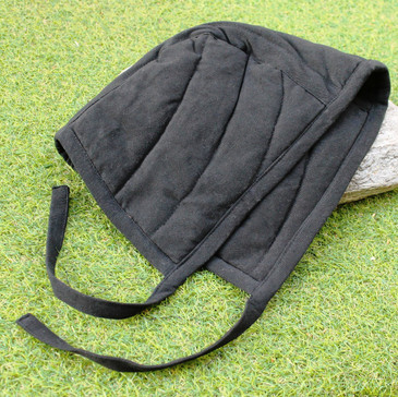 Black Arming Cap (Padded Coif)