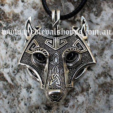 Finely Detailed Pictish Wolf Pendant