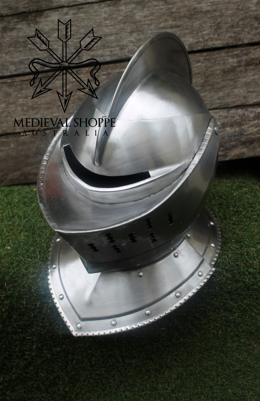 Classic Medieval Knight's Closed Helm