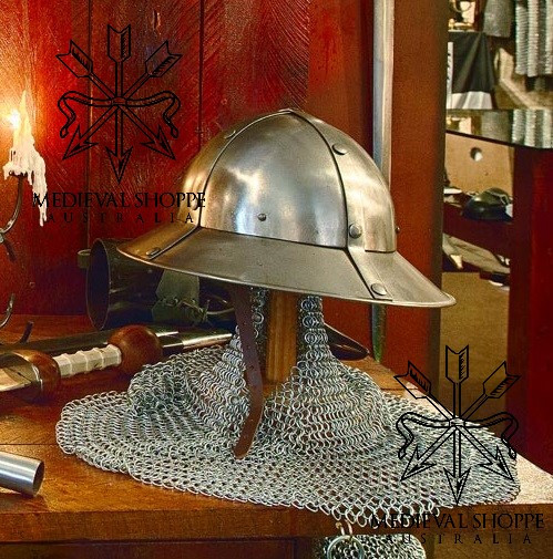 Chapel-de-Fer Helmet (Kettle Helm) 14g