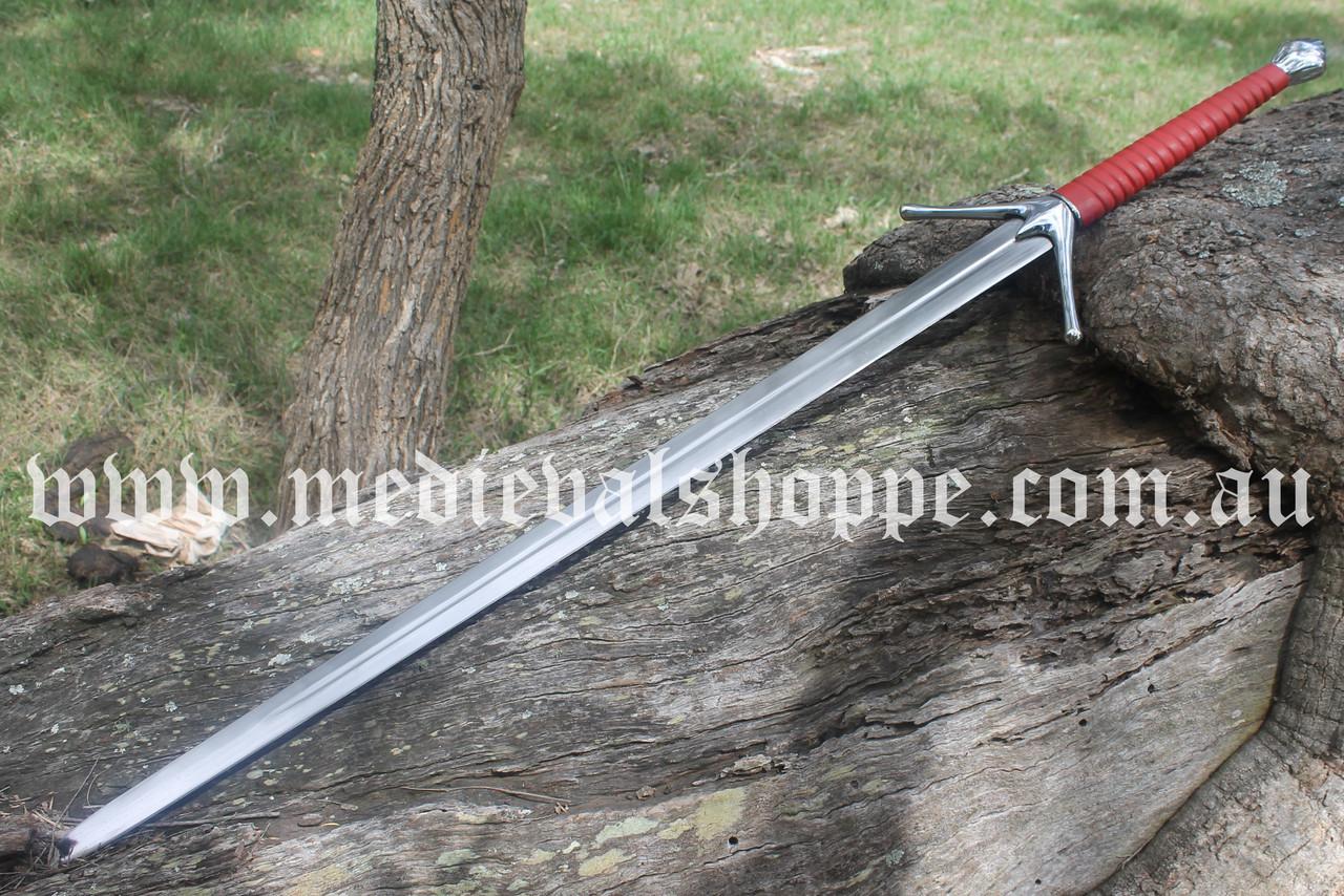 Scottish Two-Hander Sword (Witcher Aerondight Inspiration)