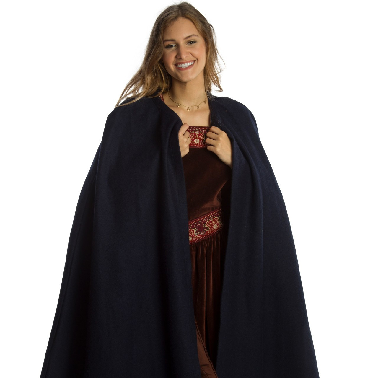 Blue Medieval Cape (Cloak)