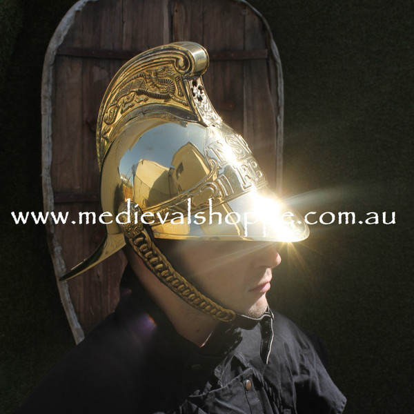 New South Wales 19th Century Fireman's Helmet (Replica)