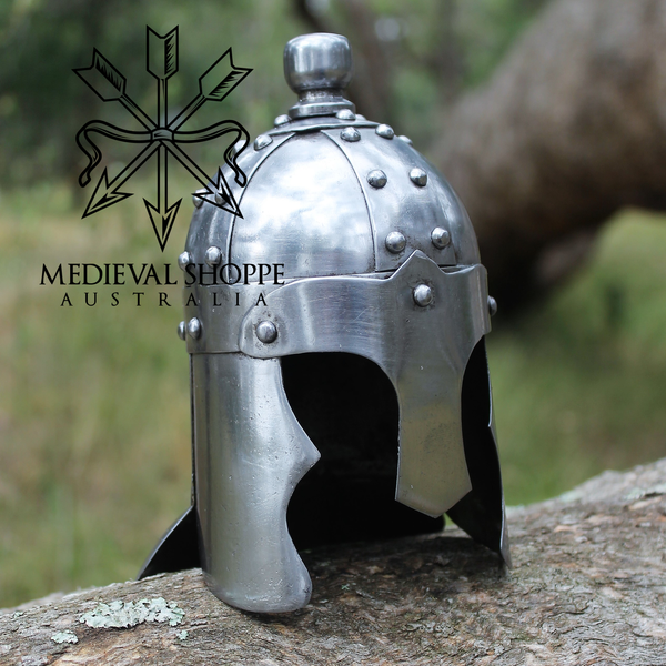 Miniature Dark Ages Helm With Stand