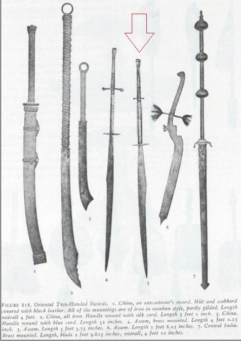 Khasi Sword (India)