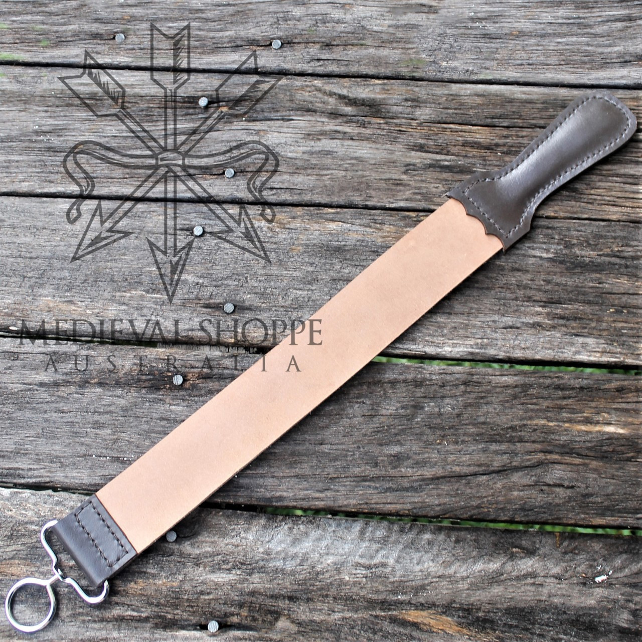 Genuine Leather Sharpening and Honing Strop 19.75 inches