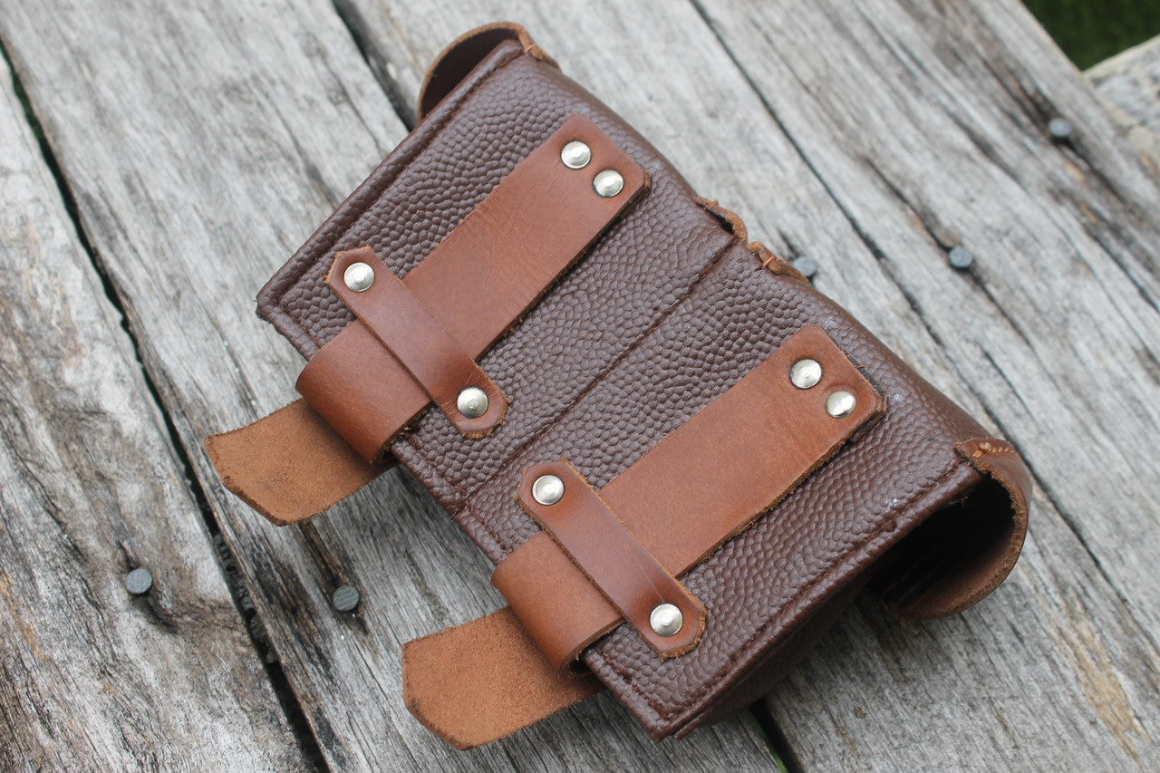Leather Mosin Belt Pouch