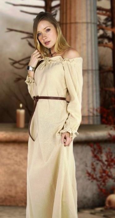 Off-Shoulder Nordic Dress