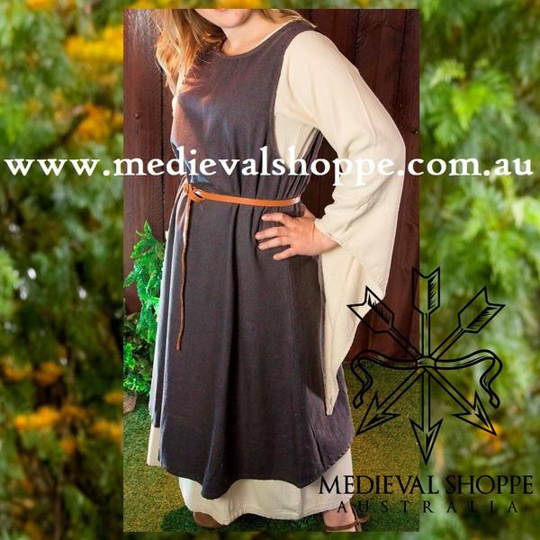 Grey Sleeveless Dress (Over Dress)