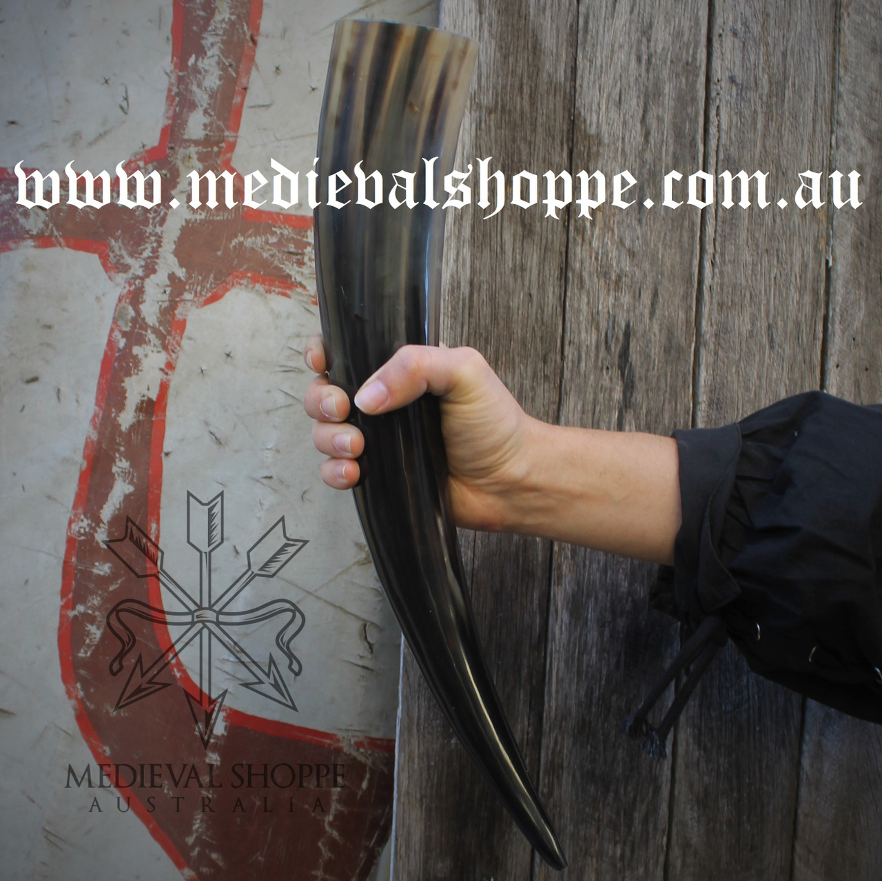 Manor House Drinking Horn