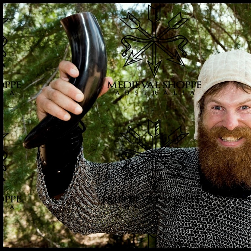Mead Drinking Horn