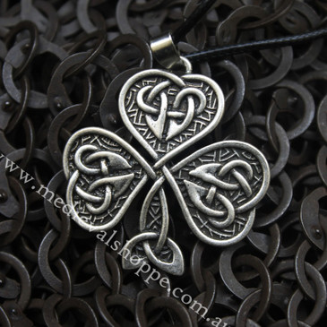 Irish Shamrock Pendant