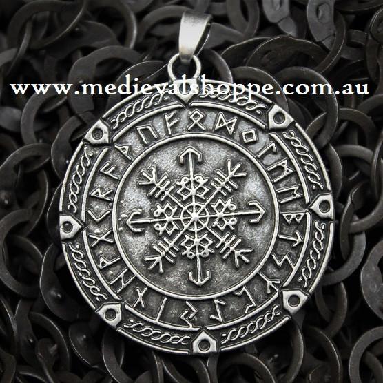 Vegvisir - Icelandic Viking Pendant